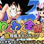 【ドッカンバトル】わくわく全開!超育成キャンペーン開始!遂にコスト48フェス限の極限スタート!